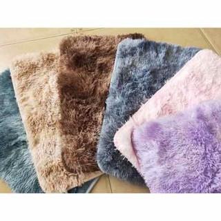 Thảm lông trải sàn nhiều kích thước (mặt sau có chống trơn) - thamlong thumbnail