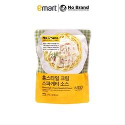 Nước Sốt Kem Mì Ý Ống Homestyle Cream Spaghetti Sauce No Brand Hàn Quốc Túi 400G - Emart VN