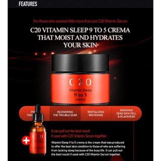 Kem Dưỡng Ẩm Mờ Thâm Sáng Da C20 Vitamin Sp 9 To 5 Cream A 50g - 7243759087 thumbnail