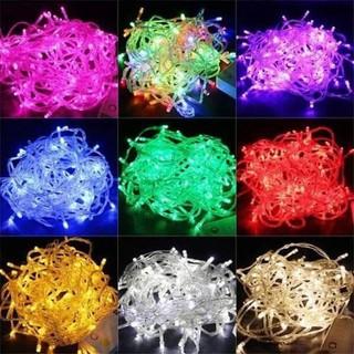Đèn nháy bóng kim trang trí lễ hội, tết nhiều màu - dennhay1 thumbnail