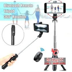 Gậy Chụp Ảnh Tự Sướng 3in1 có Bluetooth  3 Chân Đa Năng  Chụp Hình  Giá đỡ điện thoại estream