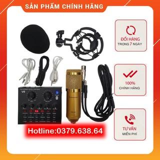 Big combo míc hát estream thu âm karaoke online micro BM900 card v8 Miễn Phí Vận Chuyển - 9319579966 thumbnail