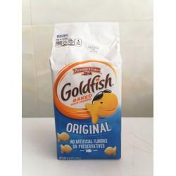 [X.DƯƠNG] Bánh cá vị tự nhiên USA PEPPERIDGE FARM Goldfish Baked Snack Crackers Original 187g