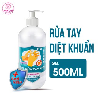 Nước rửa tay khô Avatar 75% cồn (Dung tích 500ml)- Diệt khuẩn tối đa, Mua 3 chai 500ml tặng 1 chai cùng dung tích - RUATAY-500ml thumbnail