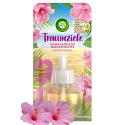 Lọ tinh dầu thiên nhiên Air Wick Hawaiian Hibiscus Flower 19ml QT0857 - hoa dâm bụt Hawaii,tinh dầu thơm phòng cao cấp, cắm điện, xông phòng, nhập khẩu Châu Âu