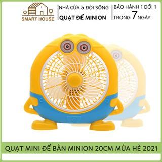 Quạt Mini - Quạt Mini - Quạt Mini Để Bàn USB Hình Minion thumbnail