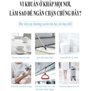 Nước rửa tay khô diệt khuẩn Avatar 75% cồn 40ml - Diệt khuẩn tối đa, Đảm bảo chất lượng - RUATAY-40ml 3