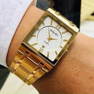 Đồng hồ nam đồng đồng hồ mặt vuông - đhv001 thumbnail