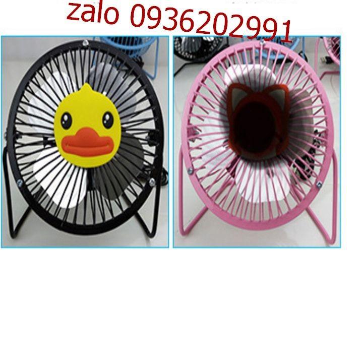 Quạt lồng sắt để bàn làm việc size lớn - Quạt size lớn có thể cắm sạc điện - Quạt mini có thể cắm sạc điện386 2