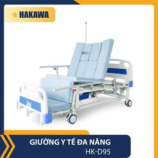GIƯỜNG Y TẾ TRỢ LỰC ĐA NĂNG ĐIỀU KHIỂN BẰNG REMOTE HAKAWA HK-D95 - HÀNG CHÍNH HÃNG - HK-D95 thumbnail