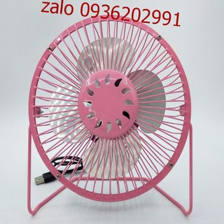 Quạt lồng sắt để bàn làm việc size lớn - Quạt size lớn có thể cắm sạc điện - Quạt mini có thể cắm sạc điện386 7