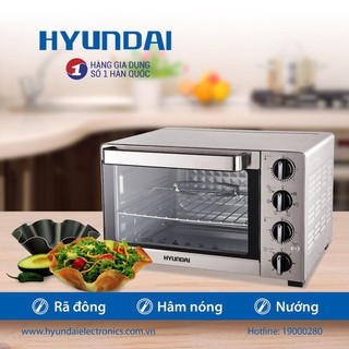 Lò nướng Hyundai HDE 3000S Dung tích 30L 35L 40L. Bảo hành 12 tháng. - 9916535186 thumbnail