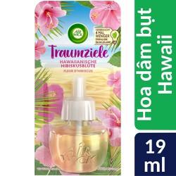 Lọ tinh dầu thiên nhiên Air Wick Hawaiian Hibiscus Flower 19ml QT0857 - hoa dâm bụt Hawaii,Lọ tinh dầu thiên nhiên Air Wick Hawaiian Hibiscus Flower 19ml QT0857 - hoa dâm bụt Hawaii