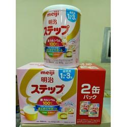 Mẫu mới - Sữa Meiji nội địa Nhật số 9 800g