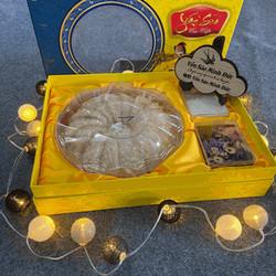 Tổ yến sào tinh chế dùng gia đình 100 gram kèm đồ chưng.