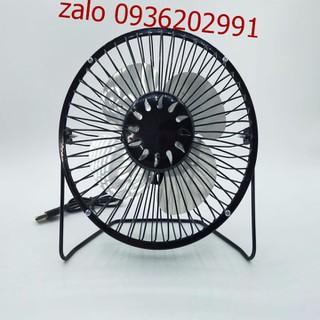 Quạt lồng sắt để bàn làm việc size lớn - Quạt size lớn có thể cắm sạc điện - Quạt mini có thể cắm sạc điện386 1