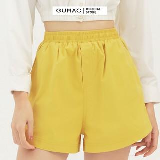 Quần short nữ lưng thun GUMAC QB3126 [ĐƯỢC KIỂM HÀNG] 41280807 - 41280807 thumbnail
