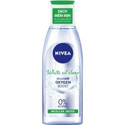 Nước Tẩy Trang Nivea White Clear Micellar Water (200ml) _ Màu Xanh Lá Dành Cho Da Nhờn