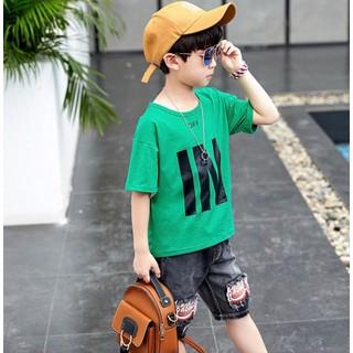 Áo dời mùa hè dành cho bé trai 16-45kg (CHỈ CÓ ÁO). Hàng may kỹ, chất vải đẹp, màu sắc tươi sáng - Áo dời thumbnail