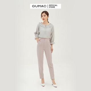 Quần tây nữ form cơ bản chạy gân giữa GUMAC QB309 - QB309 thumbnail