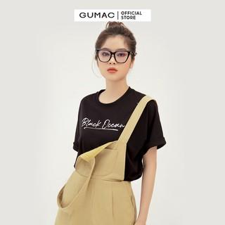 Quần short yếm nữ có túi GUMAC QB377 - QB377 thumbnail