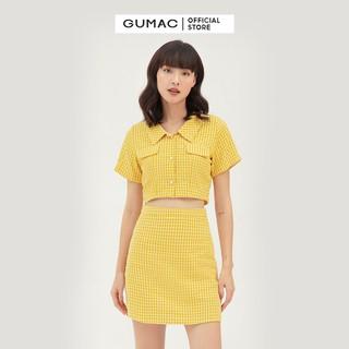 Chân váy nữ caro form cơ bản GUMAC VB333 - VB333 thumbnail