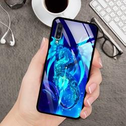 Ốp Lưng Mặt Kính Cường Lực siêu đẹp Cho Điện Thoại Samsung A70 - 03054 8224 RK01