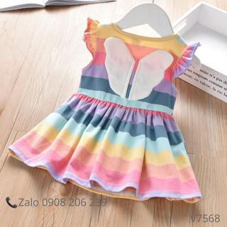 Đầm bé gái váy bé gái cánh thiên thần - BUOMSACMAU thumbnail