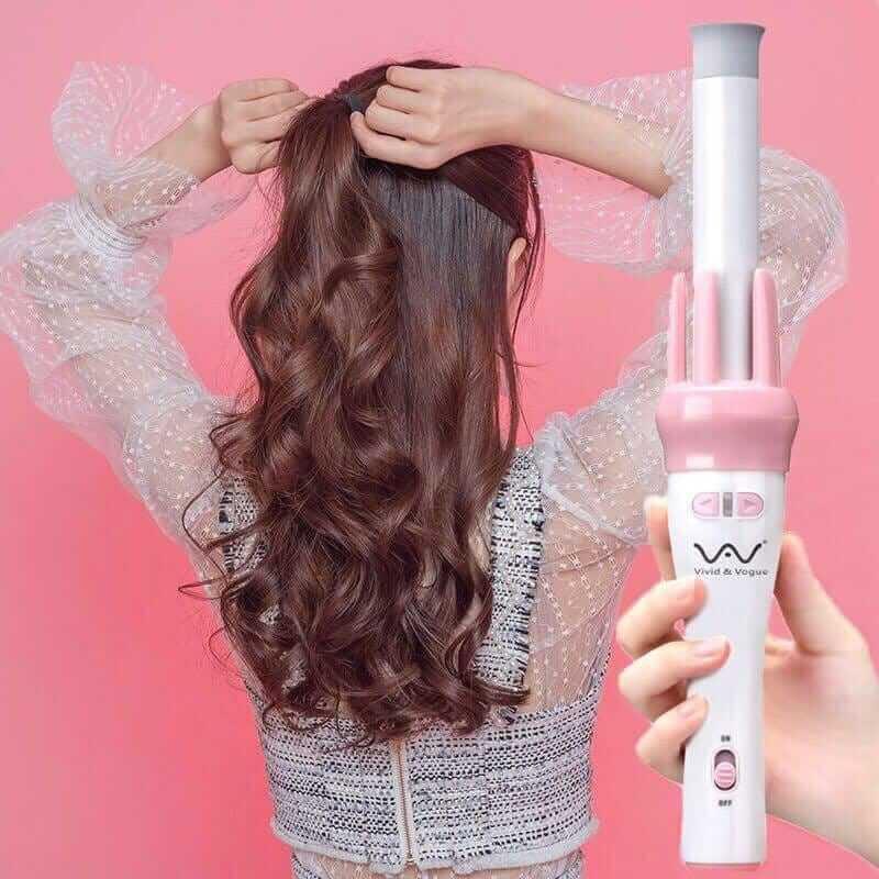 Máy uốn tóc xoăn xoay tự động 360 - Gậy uốn xoăn tóc - 6923518906661 12