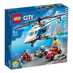 LEGO CITY 60243 - Trực Thăng Truy Bắt ( 212 Chi tiết )