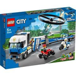 LEGO CITY Trực Thăng Vận Tải Cảnh Sát 60244 (317 chi tiết)