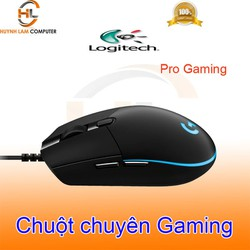 Chuột chuyến game có dây Logitech Pro Gaming bấm rất đã lướt rất mượt - DGW phân phối