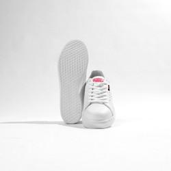 Giày thể thao nữ trắng sneaker nữ đế bằng siêu dễ thương năng động Rozmoda GI08