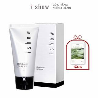 [TẶNG 1 MIẾNG MẶT NẠ NHA ĐAM] Sữa Rửa Mặt Sạch Sâu Trắng Da , Dưỡng Ẩm Amino Acid Cleanser Cao Cấp Hàn Quốc chính hãng ISHOW - srm1111 thumbnail