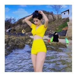 Bikini 2 Mảnh Áo Tắm Biển Đồ Bơi Nữ Thời Trang Xuân - Hè Cao Cấp