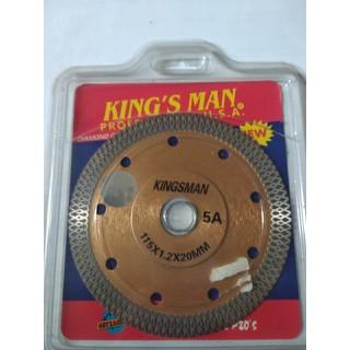 lưỡi cắt kingsman 115x1.2x200 răng lưới - 0126 thumbnail