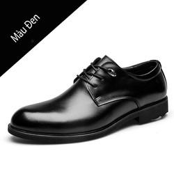 Giày da nam giám đốc, giày doanh nhân, giày nam cổ điển mũi tròn mã 36578
