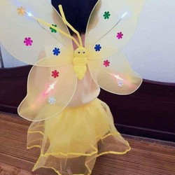 Bộ váy cánh bướm thiên thần cho bé