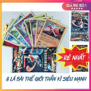 Đồ Chơi Thẻ Bài Pokemon- 8 Lá Bài Thế Giới Thần Kì Siêu Mạnh A0646 - A0646 thumbnail