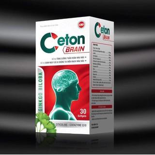 Hoạt Huyết Dưỡng Não Ceton Brain - Giúp Giúp làm tan huyết khối,giảm cholesterol máu, giảm nguy cơ di chứng sau tai biến, - Hoạt Huyết Dưỡng Não Ceton Brain thumbnail