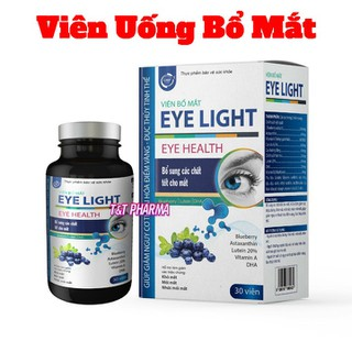 Viên Uống Bổ Mắt Eye Light- Giúp giảm nguy cơ đục thủy tinh thể, giảm mỏi mắt, nhức mắt, mờ mắt - Bổ Mắt Eye Light thumbnail