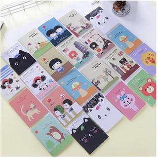 Sổ tay mini xinh xắn, nhiều mẫu - 4317745533 thumbnail