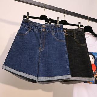 QM4A64 - Quần jean ngắn nữ cho người mập - giá 330k - QM4A64 thumbnail