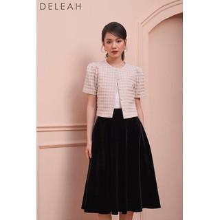 DE LEAH -Chân Váy Midi Xoè - Thời trang thiết kế - Z2004121D thumbnail