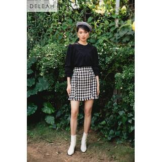 DE LEAH - Chân Váy Tweed Tua Rua - Thời trang thiết kế - Z2004123D thumbnail