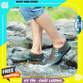 Giày Đi Câu Cá - Giày Lội Nước - Giày Lưới Chịu Nước - MS10-01 thumbnail