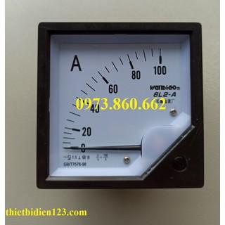Đồng hồ đo điện áp - dòng điện , đồng hồ vôn, ampe 6L2-A - đồng hồ đo a thumbnail