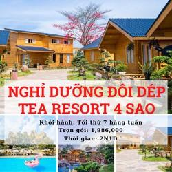 Tour Du Lịch: Madagui - Bảo Lộc - Nghỉ Dưỡng Đôi Dép Tea Resort 4 Sao (2N1Đ)