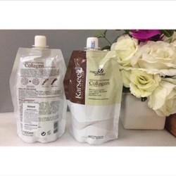 Ủ tóc colagen Karseell 500ml phục hồi và làm mượt tóc hư tổn, dưỡng tóc hiệu quả – Hàng Nhập Khẩu Ý (Được kiểm tra hàng khi nhận hàng)