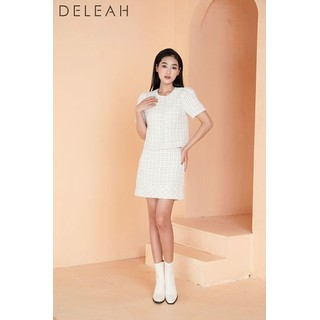 DE LEAH - Chân Váy Tweed Mini - Thời trang thiết kế - Z2004122K thumbnail